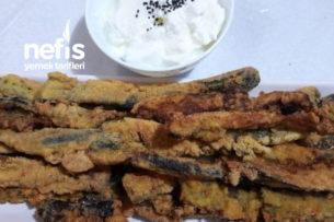 Çıtır Çıtır Patlıcan Kızartması (Yemeye Doyamayacaksınız) Tarifi