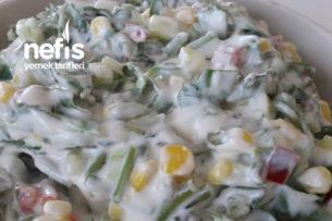 Renkli Semizotu Salatası Tarifi