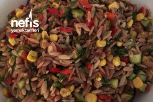Arpa Şehriyeli Lezzetli Salata Tarifi