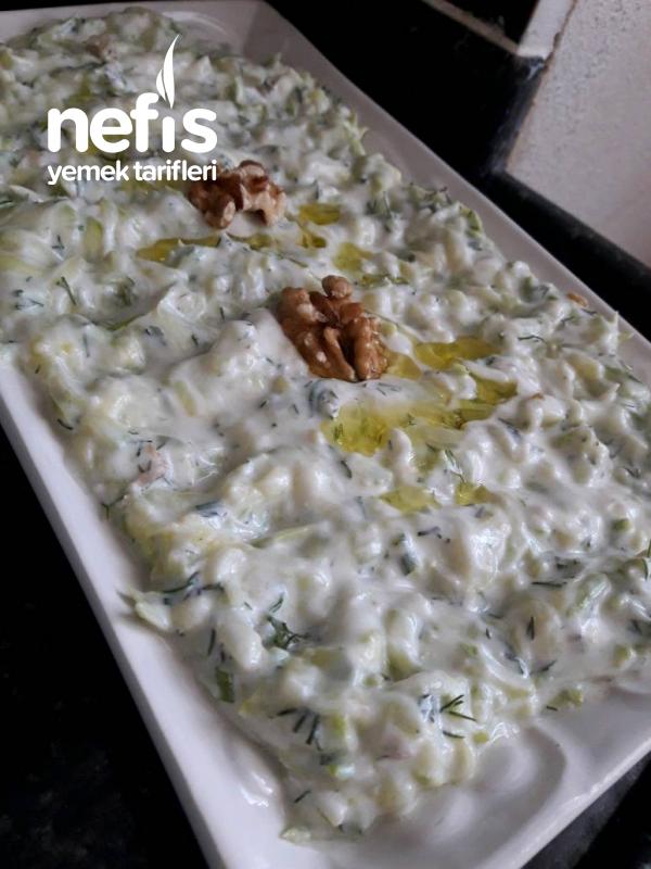 Kerevizli Kabak Salatası( Denemeye Değer)