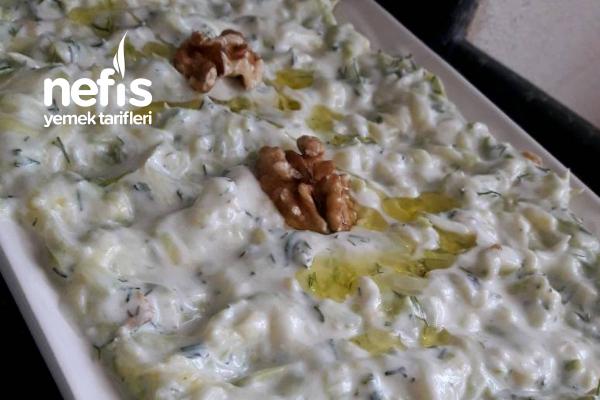 Kerevizli Kabak Salatası ( Denemeye Değer) Tarifi