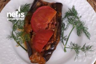 Köz Patlıcanlı Karnıyarık (Fazlası Dondurucuya) Tarifi