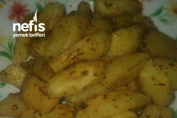 Pratik Fırında Patates Tarifi