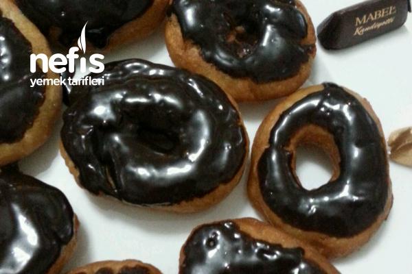 Amerikan Donut-Çikolatalı Tarifi