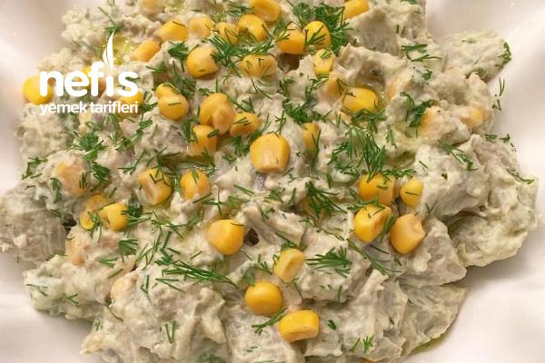 Enginarlı Avakado Salatası Tarifi