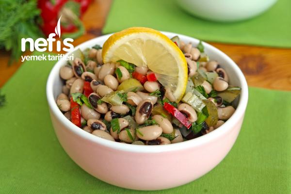 Kuru Börülce Salatası (videolu)