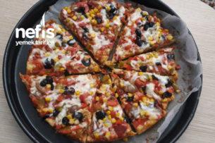 Enfes Pizza Tava Tarifi