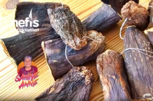 Dolmalık Patlıcan Kurutması (videolu) Tarifi
