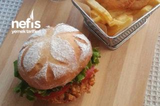 Ev Yapımı Tavuk Burger Tarifi