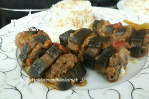 Süslü Fidoş (Patlıcan Dizmesi) Tarifi