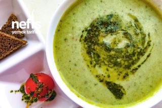Yeşil Soslu Brokoli Çorbası Tarifi