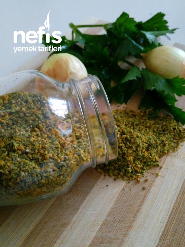 Evde Sebzeli Çeşni Yapımı
