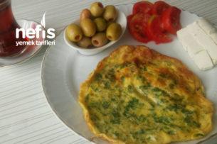 Karatay Mutfağı Kitabından/Maydanozlu Omlet (Karatay Diyeti) Tarifi