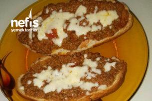 Etli Pide ( Bayat Ekmekler Değerlensin) Tarifi