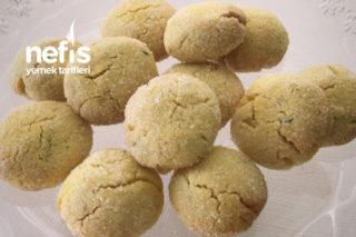 Glutensiz Margarinsiz Mısır Unlu Kurabiye Tarifi