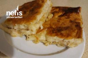 Pırasalı Tepsi Böreği (Sodalı) Tarifi