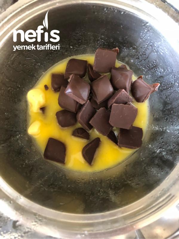 Çikolatalı Nefis Çatlak Kurabiye (yapım aşamalı)