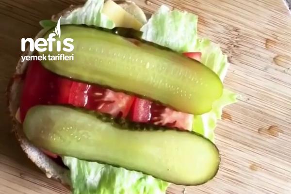Evde Hamburger Köftesi Yapımı
