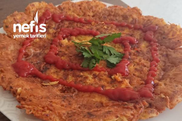 Nefis Çıtır Patates Pizza