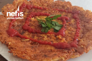 Nefis Çıtır Patates Pizza Tarifi