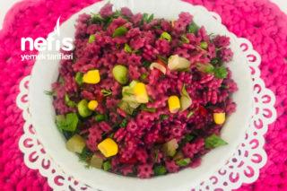 Şalgam Suyu İle Makarna Salatası Tarifi