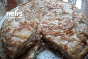 Soğanlı Lor Peynirli Börek (Favoriniz Olacak) Tarifi