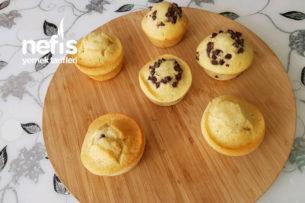 Damla Çikolatalı Ve Reçelli Muffinler Tarifi