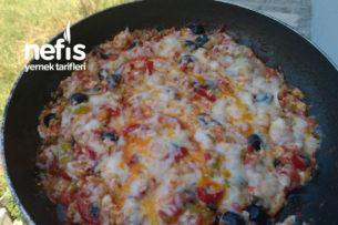 Ekmeksiz Pizza Tarifi