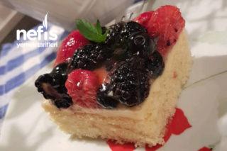 Yumuşacık Hafif Yaz Pastası ( İstediğin Meyveli, Çok Kolay ) Tarifi