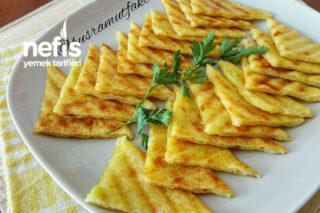 3 Malzemeli Patates Tostu Tarifi