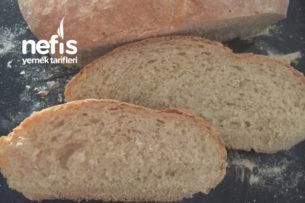 Ev Yapımı Beyaz Ekmek (Odun Fırınından Çıkmış Gibi) Tarifi