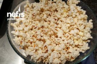 Microdalgada Kokusuz Popcorn Tarifi