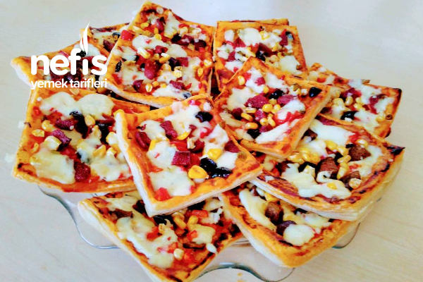 Nefis Milföy Pizza Tarifi