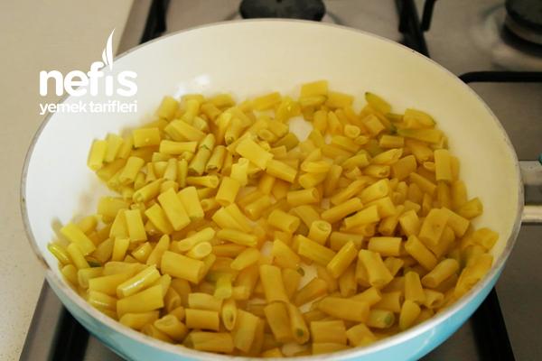 Sarı Fasulyeden Salata Tarifi (videolu)