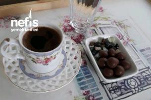 Maden Suyuyla Bol Köpüklü Türk Kahvesi Tarifi