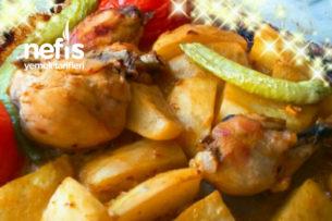 Fırında Tavuklara Aromalı Sos (Eşsiz Lezzet) Tarifi