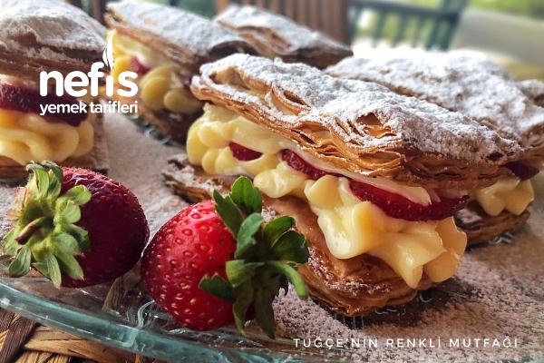 Pastane Usulü Milföy Pasta Tarifi