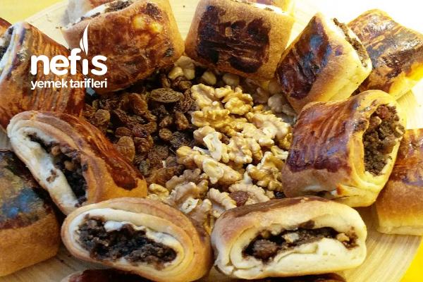 Pastiç İzmir Çöreği (Bayatlayan Keklerinizi Atmayın) Tarifi
