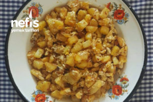 Patatesli Yumurta Kavurması Tarifi
