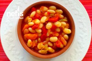 Sebzeli Zeytinyağlı Kurufasulye Tarifi