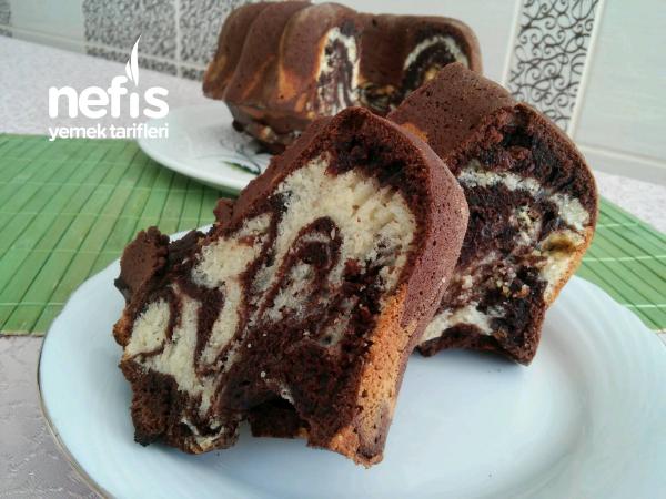 Yumuşacık Üzümlü Mozaik Kek (Çok Kabaran)