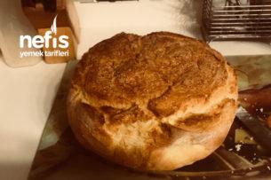 Döküm Tencerede Ev Ekmeği Tarifi