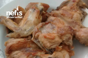 Nar Gibi Kızarmış Tavuk (Tavada) Tarifi