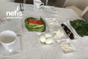 Sağlıklı (Diyet) Kahvaltı Sofrası Tarifi