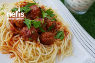 Köfteli Spagetti Tarifi