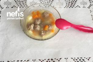 10 Aylık Ve Üzeri Bebekler İçin Garnitürlü Köfte Yemeği Tarifi