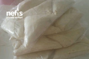 Yeşil Mercimekli Muska Börek (Derin Dondurucu İçin) Tarifi