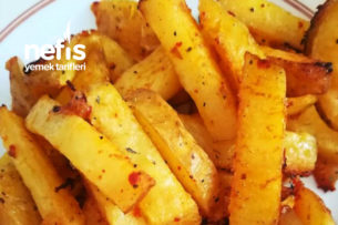 Bol Baharatlı Nefis Garnitür Patates Tarifi