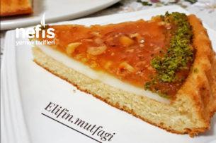 Kremalı Karamelli Tart Kek (videolu) Tarifi