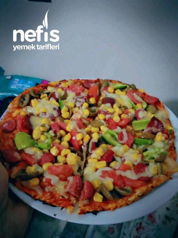 Üşengeç Pizza  (lavaştan)